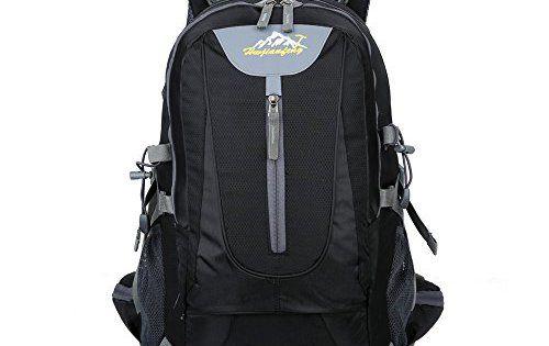 X2X Sac à dos de randonnée 40L Sac de sports de plein air Camping Voyage alpinisme Trekking Ski Sac à dos: Matériau-Le sac à dos est…