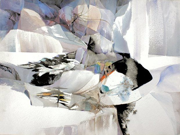 Nechis Barbara Pleistocene 22x30 2 By Northeast Art Workshop