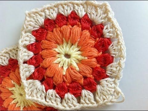Tutorial Flor Crochet o Ganchillo Flower - YouTube