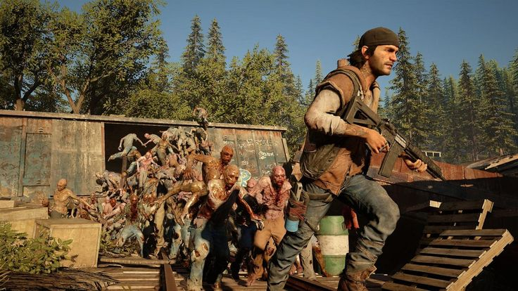 Days Gone is an open-world action-adventure game set in a harsh wilderness two years after a devastating global pandemic. Play as Deacon St. John, a Drifter and bounty hunter who rides the broken road, fighting to survive while searching for a reason to live.  At its core, Days Gone is about survivors and what makes them human: desperation, loss, madness, betrayal, friendship, brotherhood, regret, love – and hope. It's about how even when confronted with such enormous tragedy they find a…