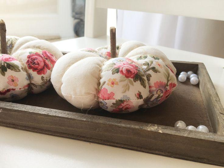 handmade fall decor...patchwork pumpkin <3