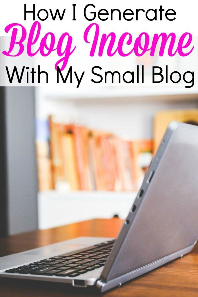 It is 100% possible to earn money if you have a small blog. Each month I report my blog income and what methods I use that earn me money!