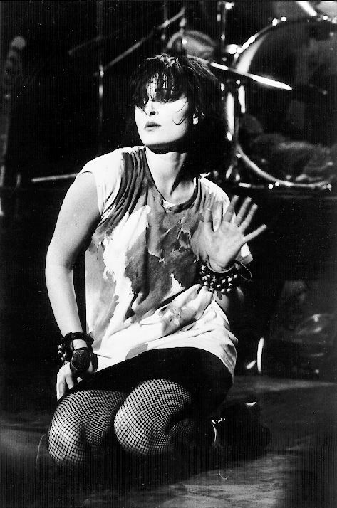Siouxsie Sioux - making goth glam.