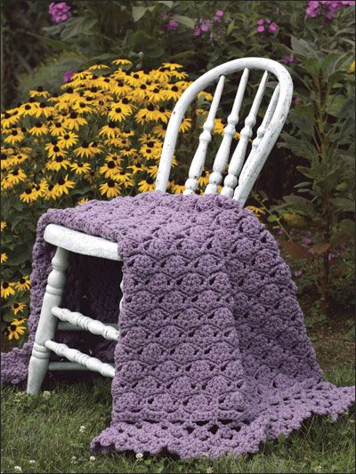 Crochet - Afghan & Throw Patterns - Single Color Patterns ...