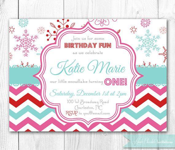 19 best winter wonderland invitation images on pinterest, Party invitations
