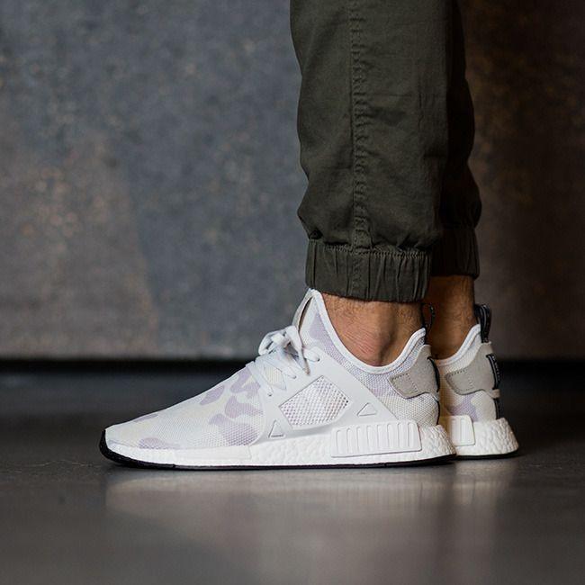 "Buty adidas Originals NMD_XR1 ""Duck Camo"" Pack ""Footwear White"" BA7233"