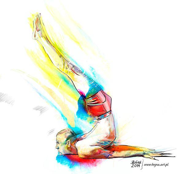 Yoga Asana presented by Bartosz Furmaniak - Sztuka Yogi.