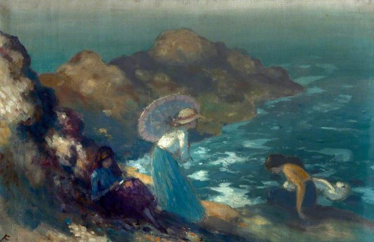 Girls By The Sea by George William Russell