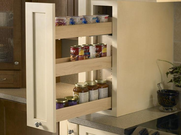 Pull out spice rack Woodworking ideas or projects
