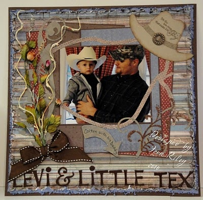 Cute For The Pic Of A Amp M Scrapbooking Western