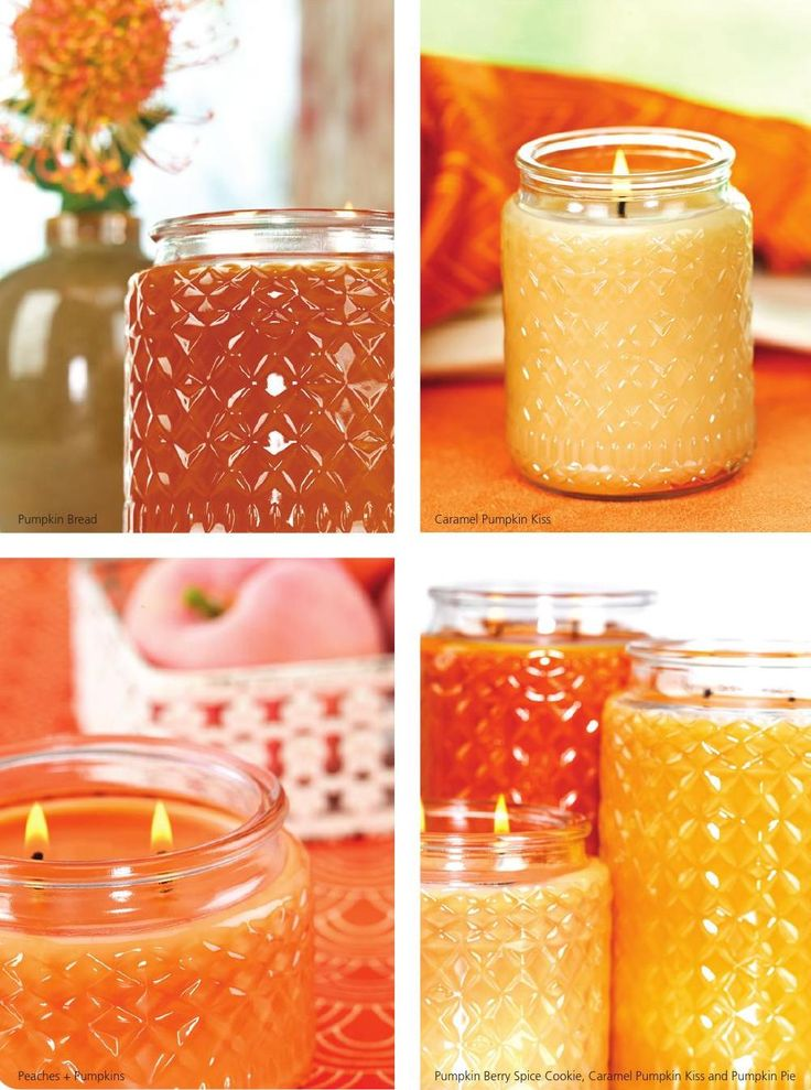 Craving the comforting scent of pumpkin? We have amazing scents and shades to satisfy every fragrance and decor desire.