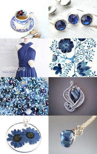 Great blues by Marzena on Etsy--Pinned with TreasuryPin.com