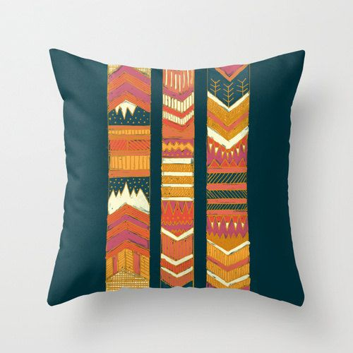 Southwestern Throw Pillow Covers : Southwestern Pillow Cover, Arrows Throw Pillow, Chevron Pillows, Boho Decorative Pillow, Tribal ...