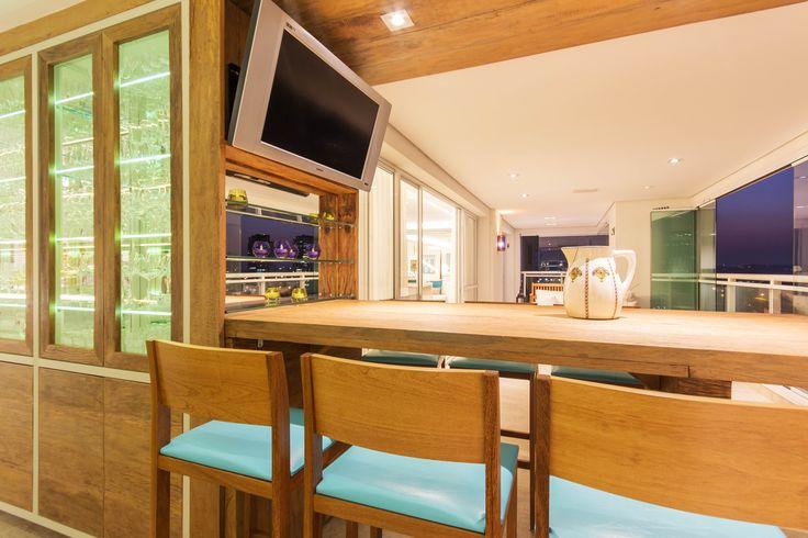 Apartamento Chef de Cozinha Varanda Gourmet Projeto - Enzo Sobocinski Arquitetura