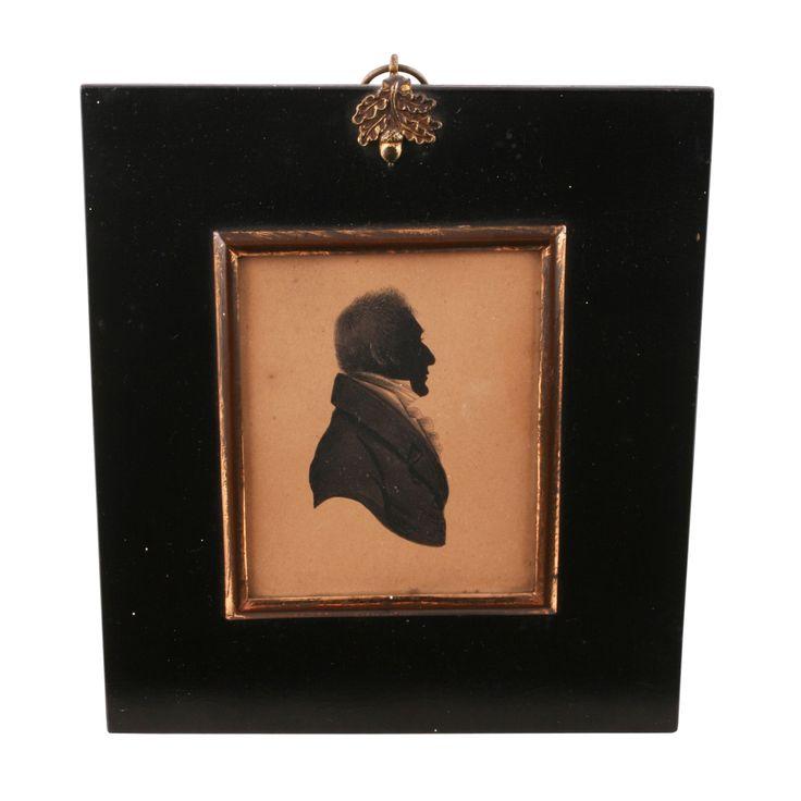 Georgian Silhouette of a Gentleman