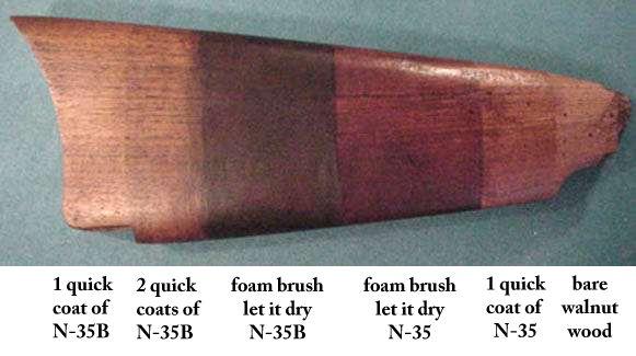 N35 Gunstock Stain Best Stain Available Gun Stock