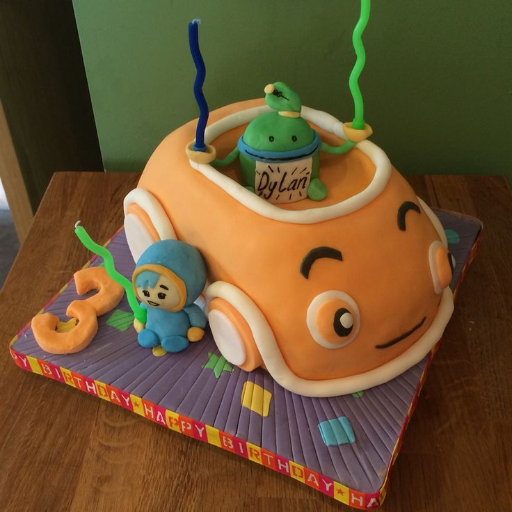 Team Umizoomi Cake - Umicar Cake