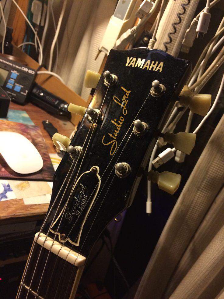 YAMAHAには珍しいギブソンヘッド。 1982年製。