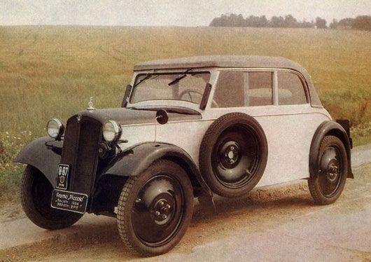 Framo Piccolo, 300-cc, 1935, 4-seater, one door, plywood body