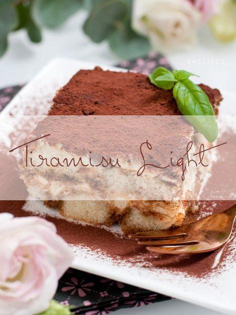 Dessert Time – Tiramisu light ohne Mascarpone, Ei und Alkohol, dafür mit Schokostückchen
