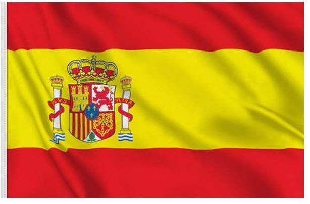 Bbi Drapeau Espagne 90 Cm Par 150 Cm 2544 Drapeau Espagnol Drapeau Espagne A Imprimer