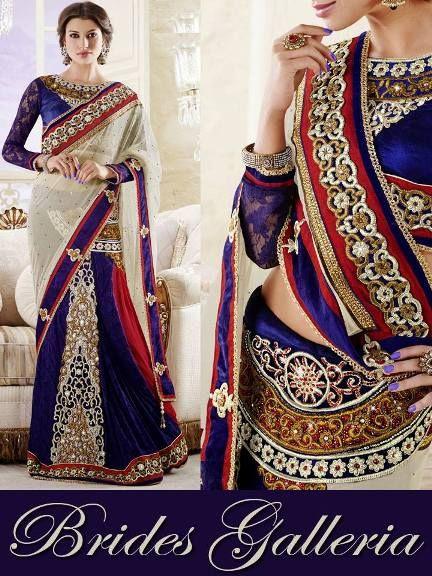 Brides Galleria Sublime Designer Saree Collection 2014 For Brides (5)