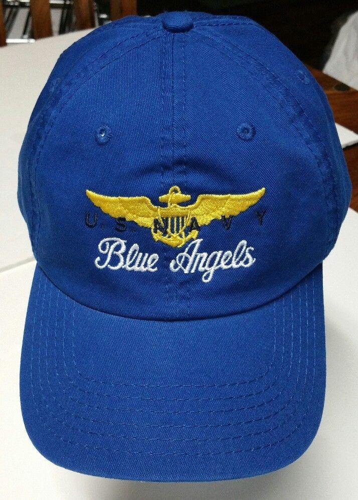 U.S. Navy Blue Angels Cap Hat Otto Adult Men s adjustable 27473a72dec6