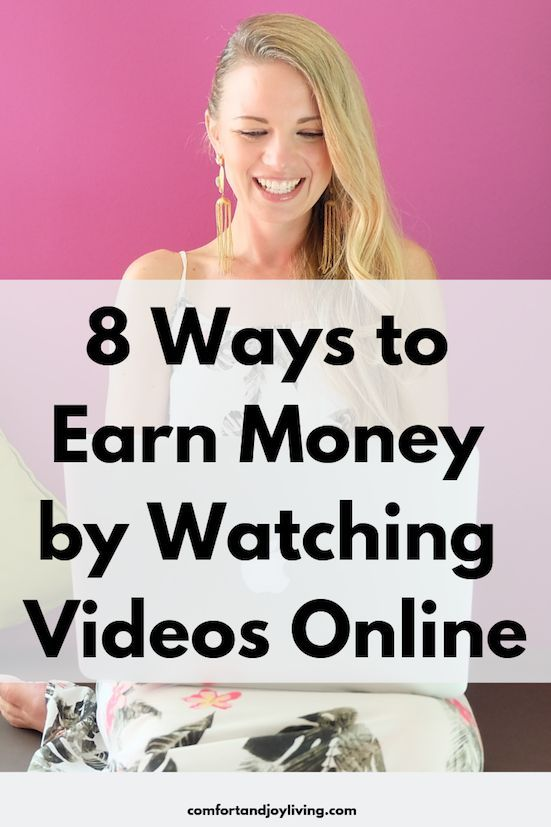 8 Ways to Earn Money by Watching Videos Online #makemoney #watchvideos #earnside… – Income Sources | Ways to Creatively Make Money