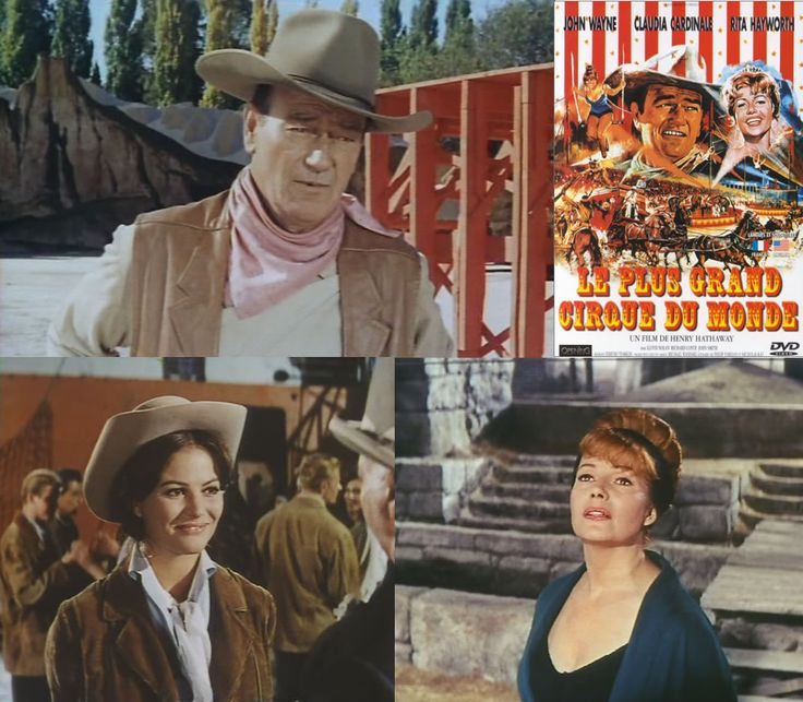 The Magnificent Showman (1964) John Wayne stars as Matt Masters, a circus showman, who takes his circus to Europe to try and find Lili (Rita Hayworth) the woman he loved and whose daughter he has been raising as if she was his own