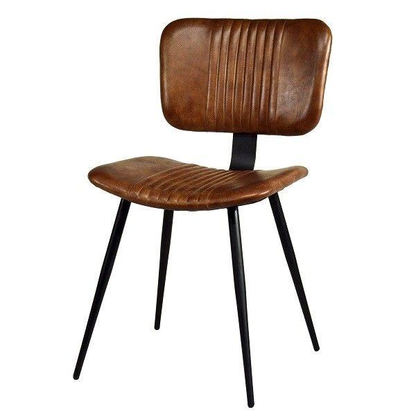 Modernclassic Lederstuhl Retro Look Perfektes Design Fur Hochsten Sitzomfort Neuer Designstuhl Mit Leder Fur Zuhause U Lederstuhle Gastronomie Mobel Stuhle
