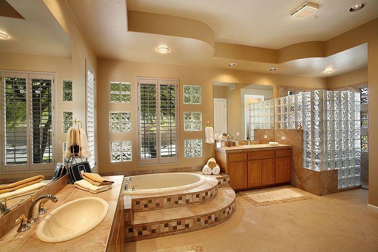 Towel Warmer, Carpet, Eclectic, Built-in bookshelves/cabinets, Flat Panel