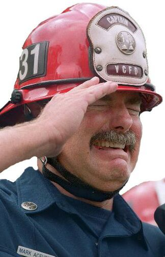 Heroes of September 11, 2001~ His face says it all.. 9-11 #NeverForget #911 #Remembering911 9/11/2001
