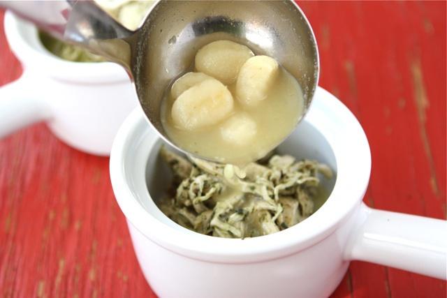 Zuppa di Gnocchi e Pesto...........Cookin Canuck