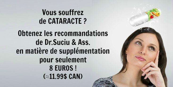 Photo drsuciu cataracte recommandations