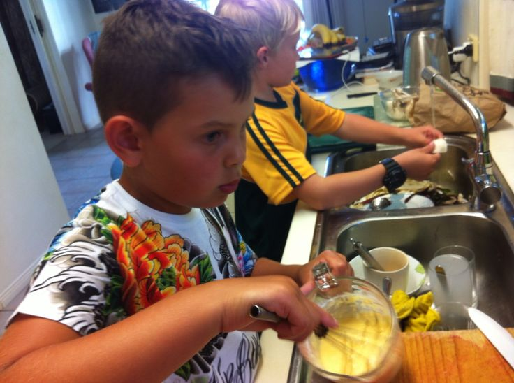 Young chefs at work