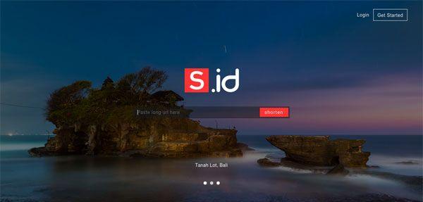 penyingkat tautan S.id