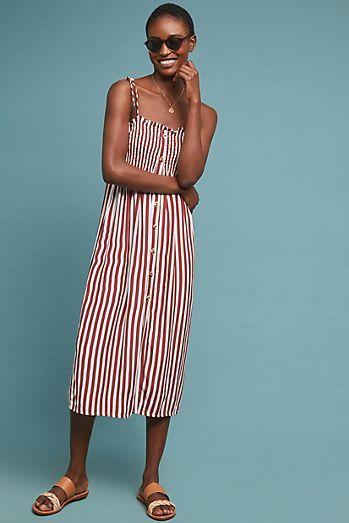 1c9971a32cc5 Faithfull Valencia Striped Dress