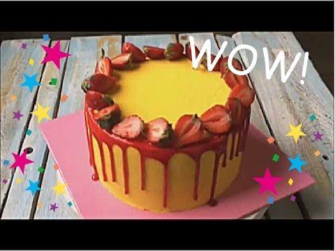 КАК УКРАСИТЬ ТОРТ КРЕМОМ?  Декор тортиков!