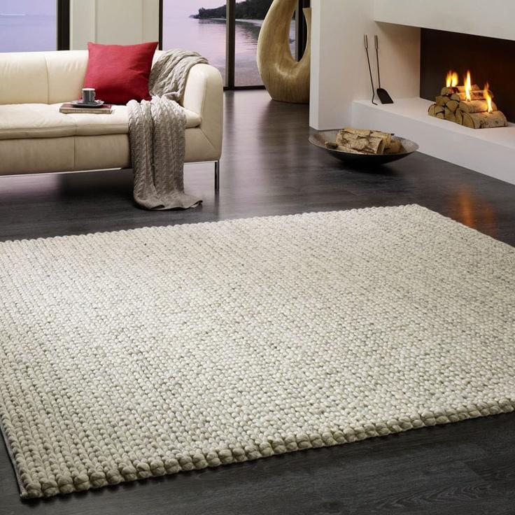 Teppich Wool Empire von Kibek - Wohnen mit Strick 10 - [SCHÖNER WOHNEN]