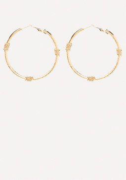 Wrapped Hoop Earrings from Bebe R160,00