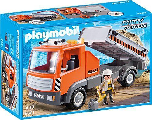 Playmobil – 6861 – Jeu – Camion de Chantier: Price:16.99Le camion de chantier est indispensable pour venir à bout des différentes tâches à…