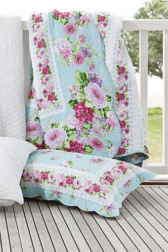 Buy Bedding Online at EziBuy   Bed linen includes sheet sets, duvet covers, blankets, quilts - Macie Quilt