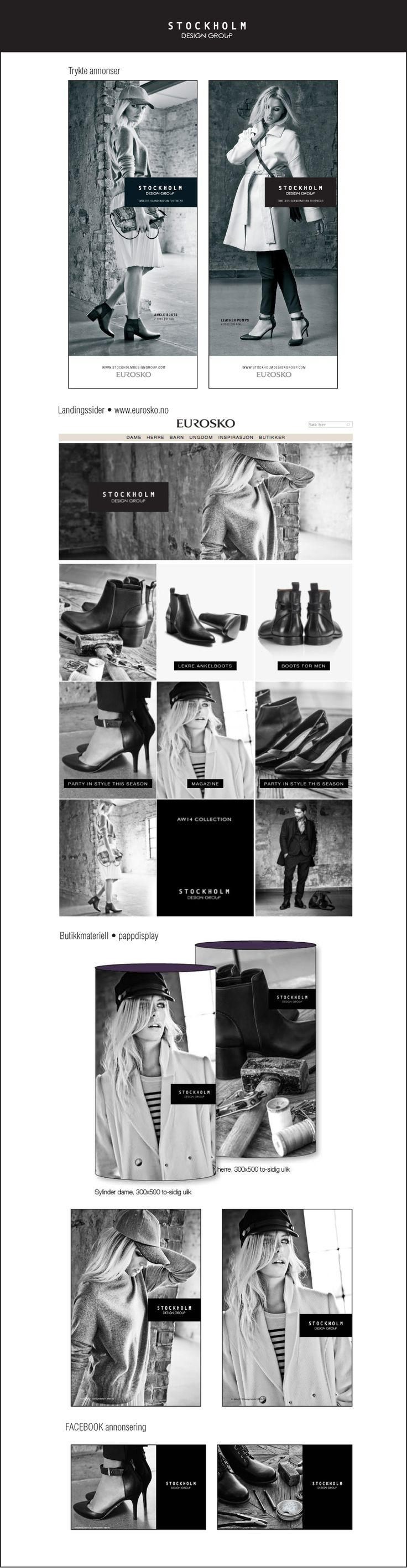 Stockholm DG kampanje høst 2014 Fotoshoot • markedsføring • annonsering • Facebook • Instagram • butikkmateriell