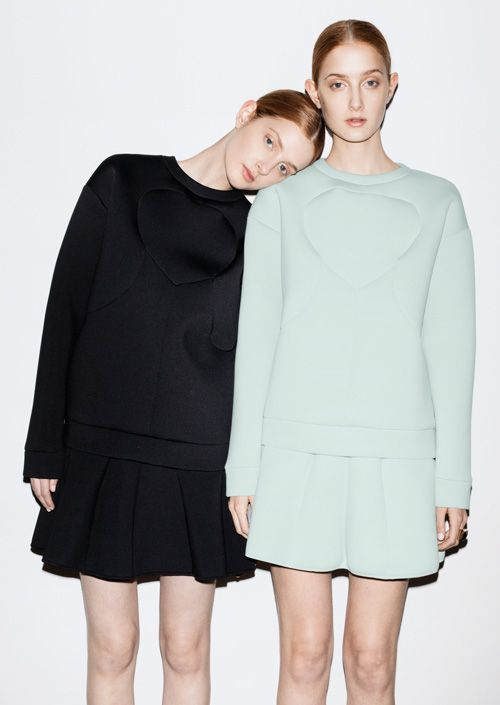 The love we have for scuba only grows and grows. Pullovers and skirts.