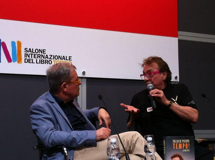 Prima presentazione al Salone Internazionale del Libro di Torino 2014 con il musicologo Maurizio Franco #tulliotour