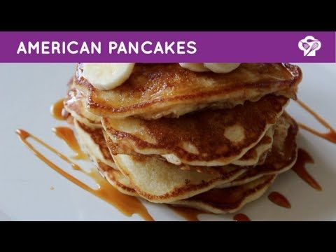 FOODGLOSS - American pancakes - YouTube