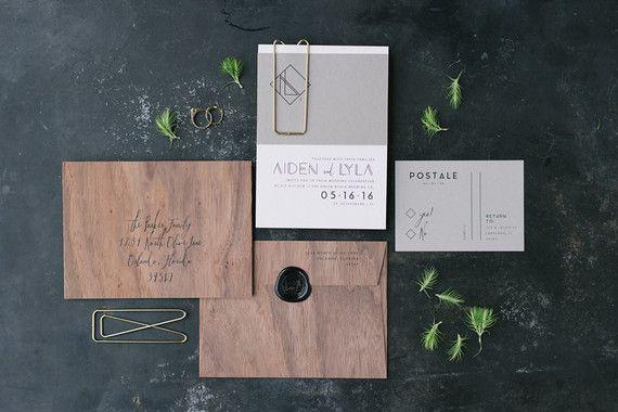 Masculine wedding invitations                                                                                                                                                                                 More