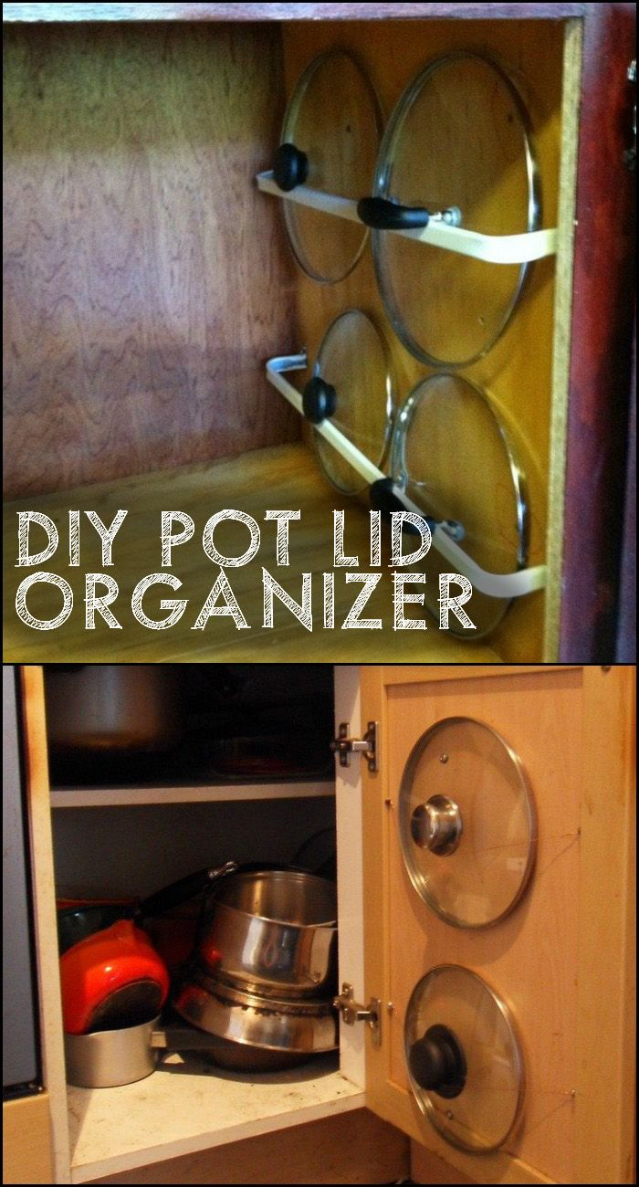 Kitchen Storage Ideas For Pots And Pans Best 25 Pot And Pan Lids Ideas On Pinterest  Pot Organization