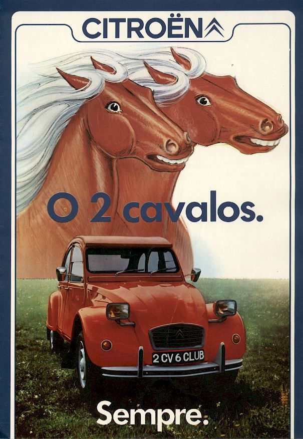 Citroen 2cv portugal
