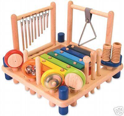 Kinder Musik Center I M TOY Holz 10 Instrumente NEU in Spielzeug, Musik & Instrumente, Sonstige   eBay